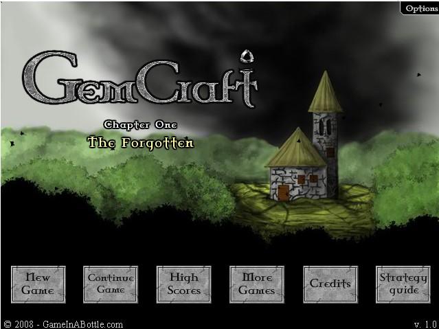 GemCraft Labyrinth. гемкрафт игра башенки.